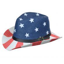 Amerikai mintás kalap