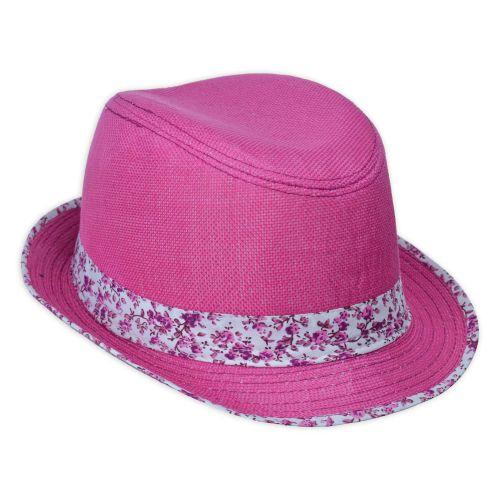Carol virágos kalap