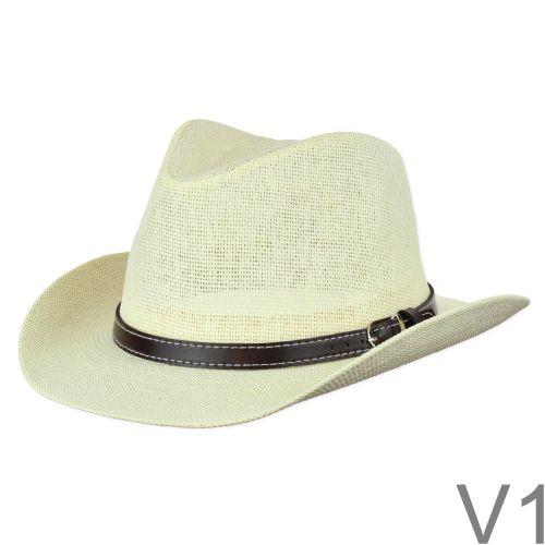 Kedvelt nyári kis karimájú western kalap.