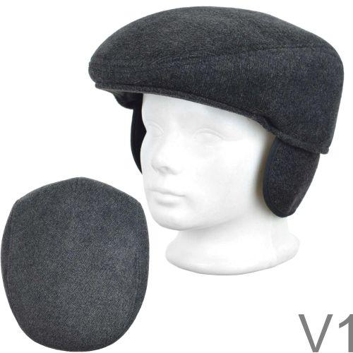 Fülvédős golf sapka