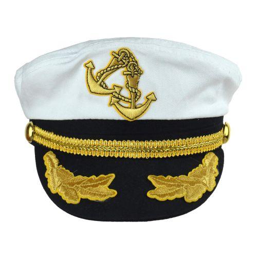 Kapitány sapka arany színű zsinórral