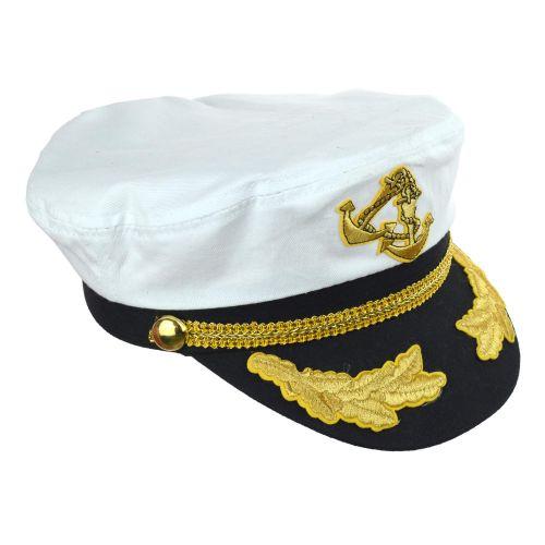 Kapitány sapka arany zsinorral, állíthatós