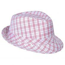 Kelly kockás kalap
