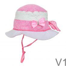 Kislány kalap masnis