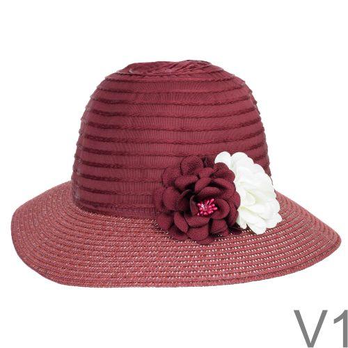 Egy szép, csinos kalap a napsütéses nyári napokra.