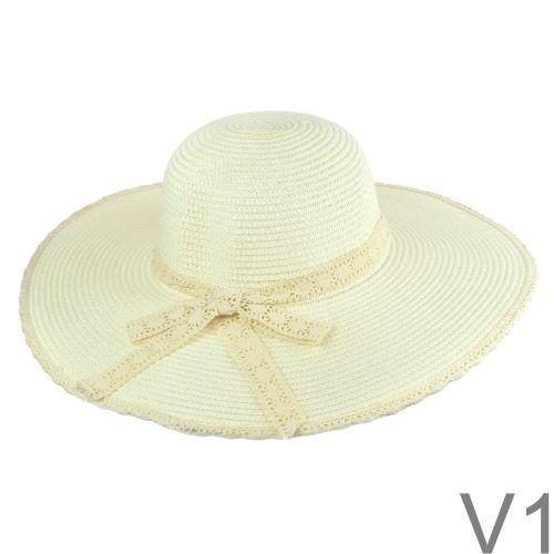 Lorella csipke szegélyes kalap