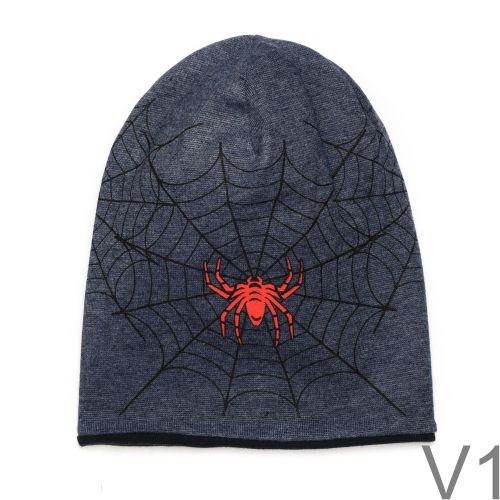 Pókháló mintás pamut sapka