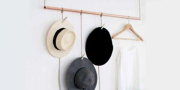 Hogyan: Egyszerű kalaptartó otthonra