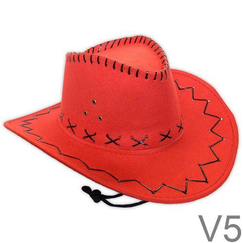 Velúr kalap Piros/Pink/Bordó